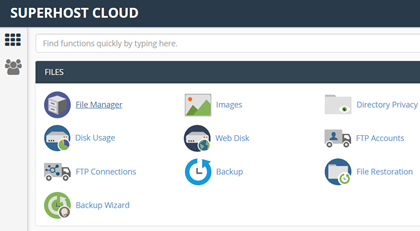 Cpanel Manage Hosting