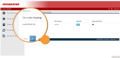 mControl Manage Hosting