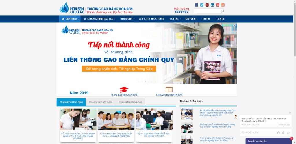 Thiết kế website giáo dục – mẫu 4766