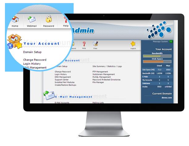 Chương trình quản lý Hosting DirectAdmin