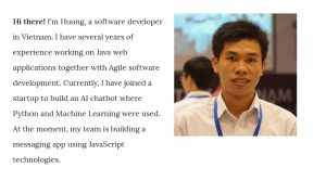 Van Huong and IT blog