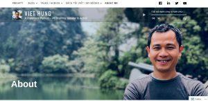 Viet Hung blogger nổi tiếng về sống hạnh phúc